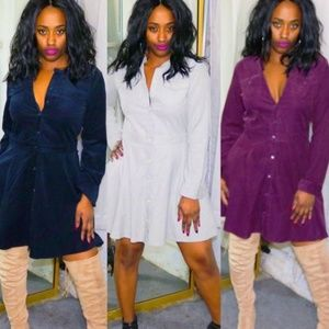 Dresses & Skirts - Button Down Flare Dresses